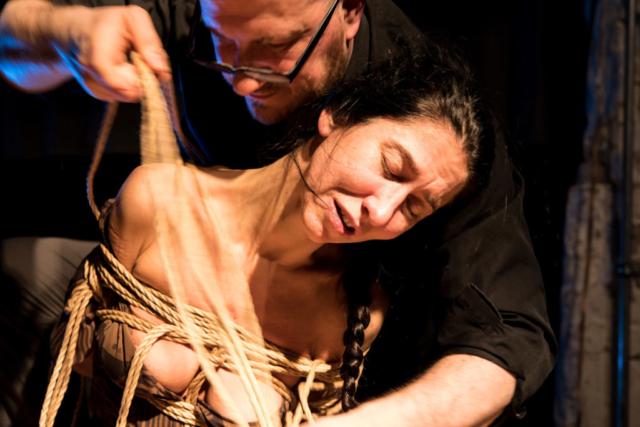 Kinbaku Performance in Berlin