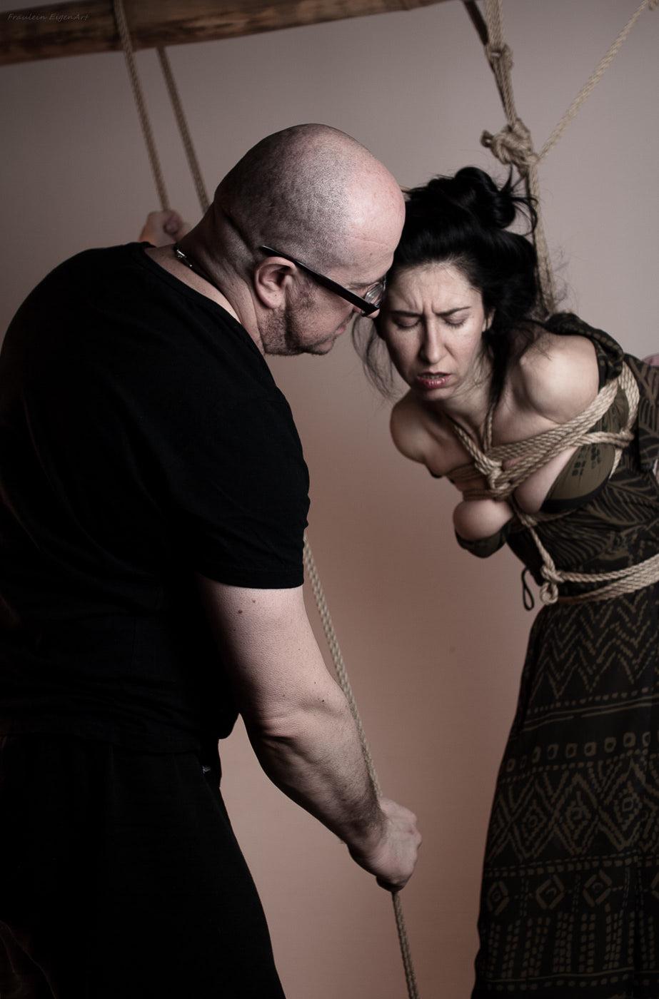 Kinbaku Photography Passion Couple Intimacy