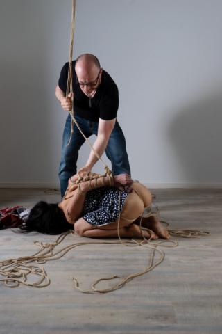 Discover Kinbaku Session Shibari Japanese Rope Bondage